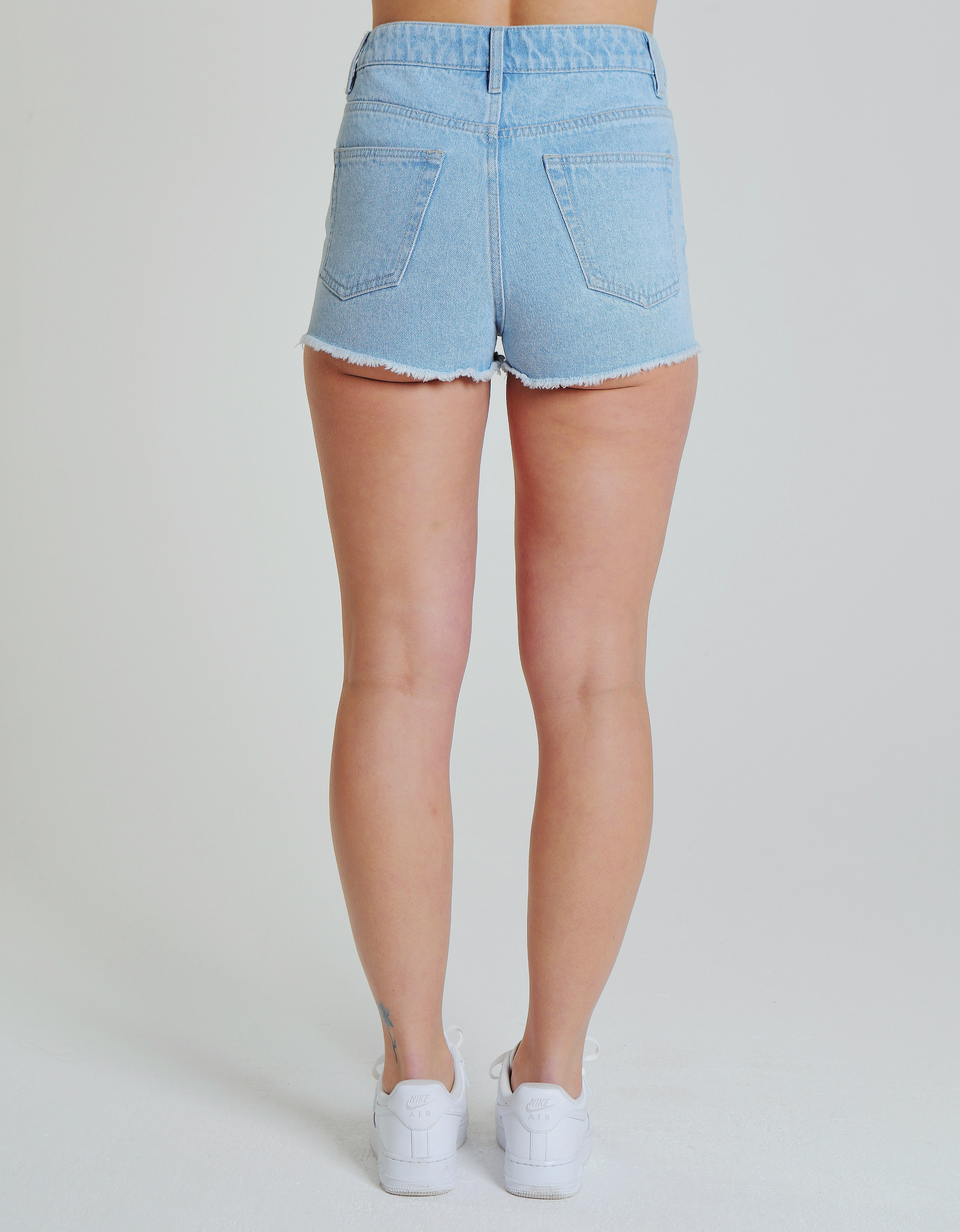 MEGAN SHORTS LIGHT VINTAGE BLUE