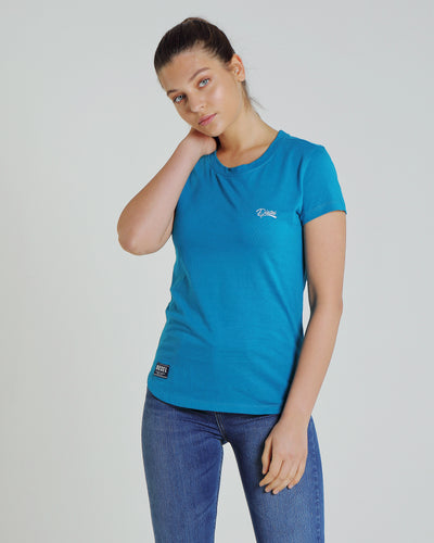 Cloda Basic Tee Ocean Depths