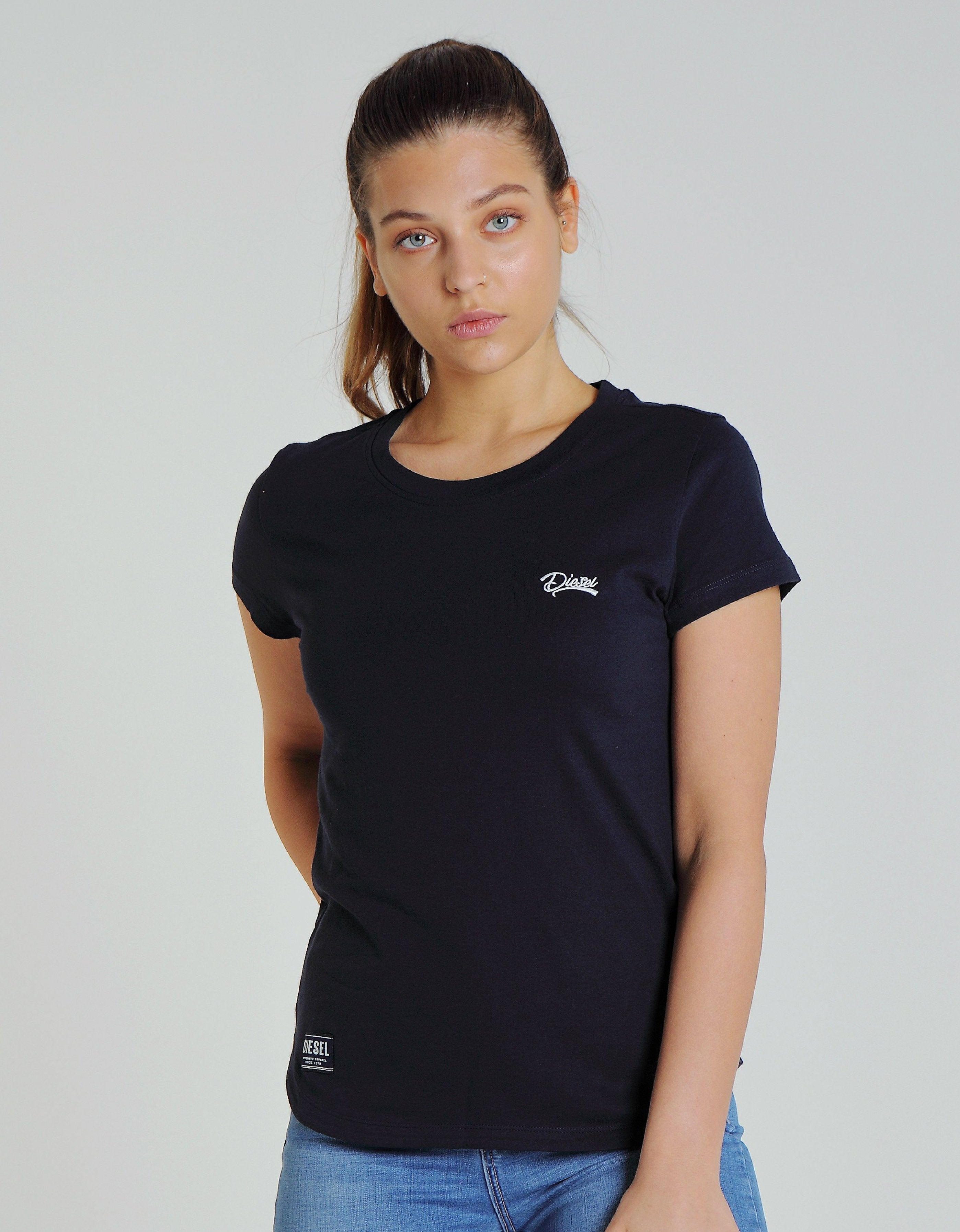 Cloda Basic Tee Pure Navy