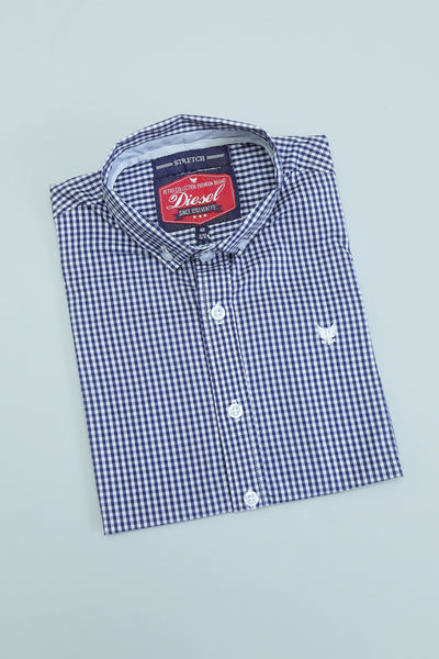 Darius Boys Check Shirt