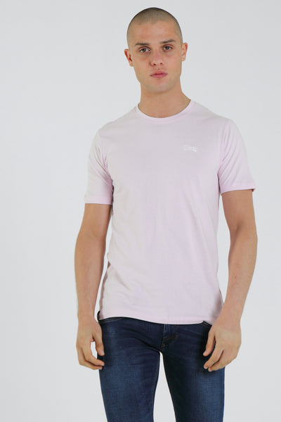 Basic Scott O Neck Tee Windsome Orchid