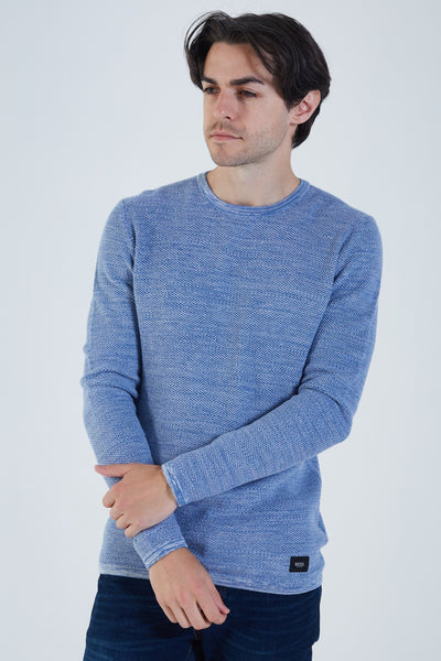 Christopher Knit Blue