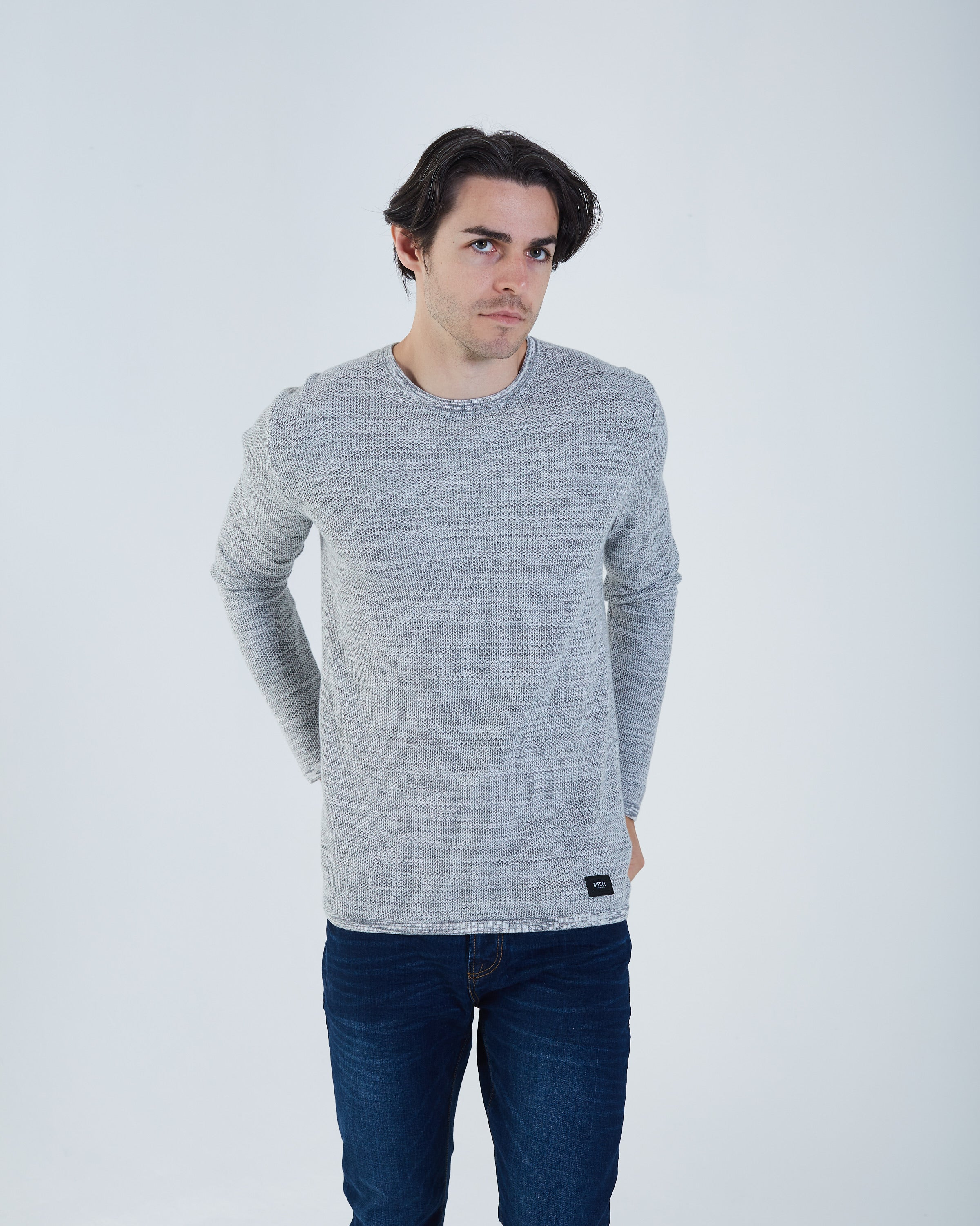Christopher Knit Grey