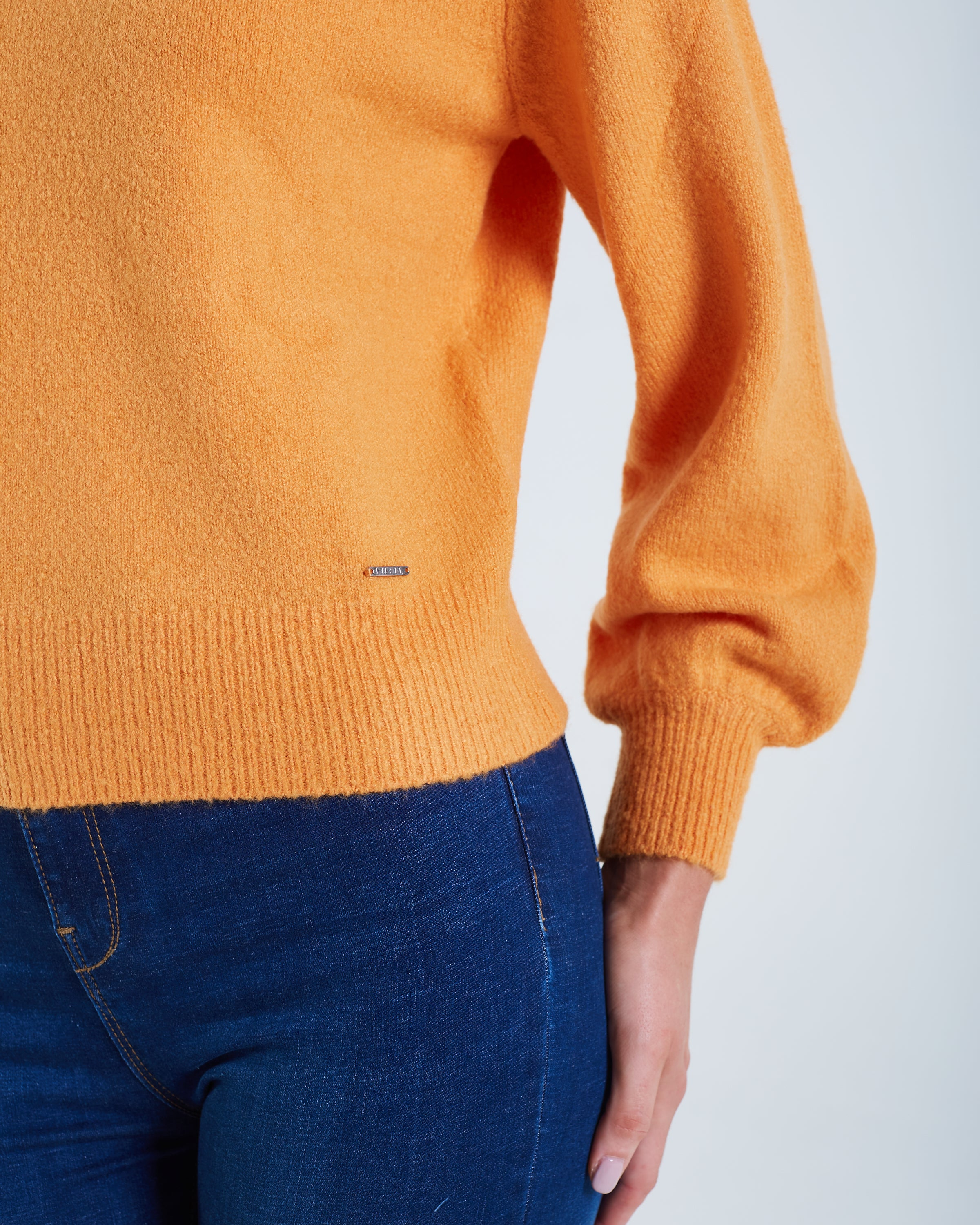 Rosalie Knit Orange Ochre