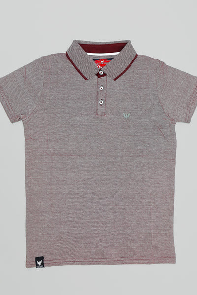 Leslie Polo Burgundy
