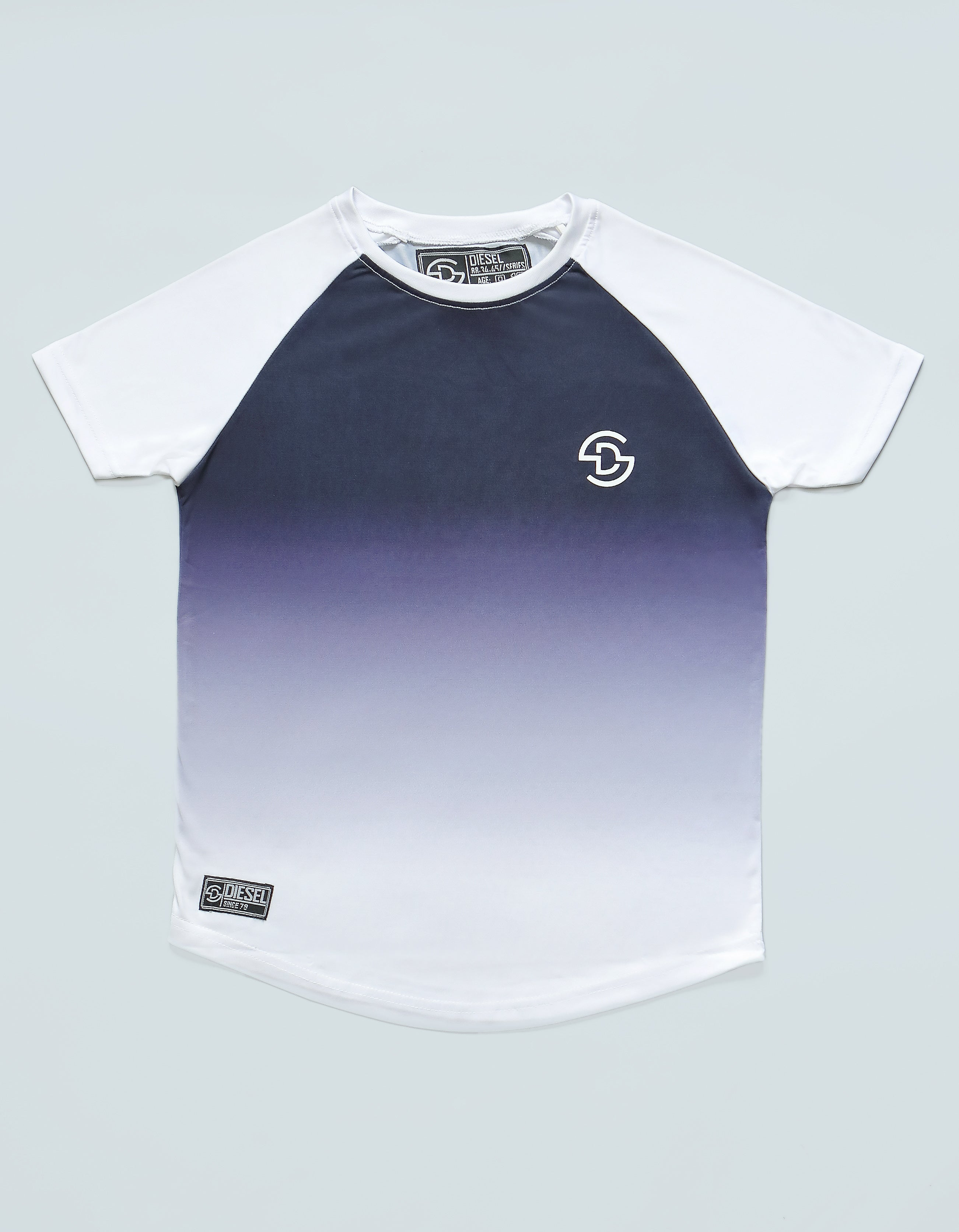 Lindell Tee Navy/White