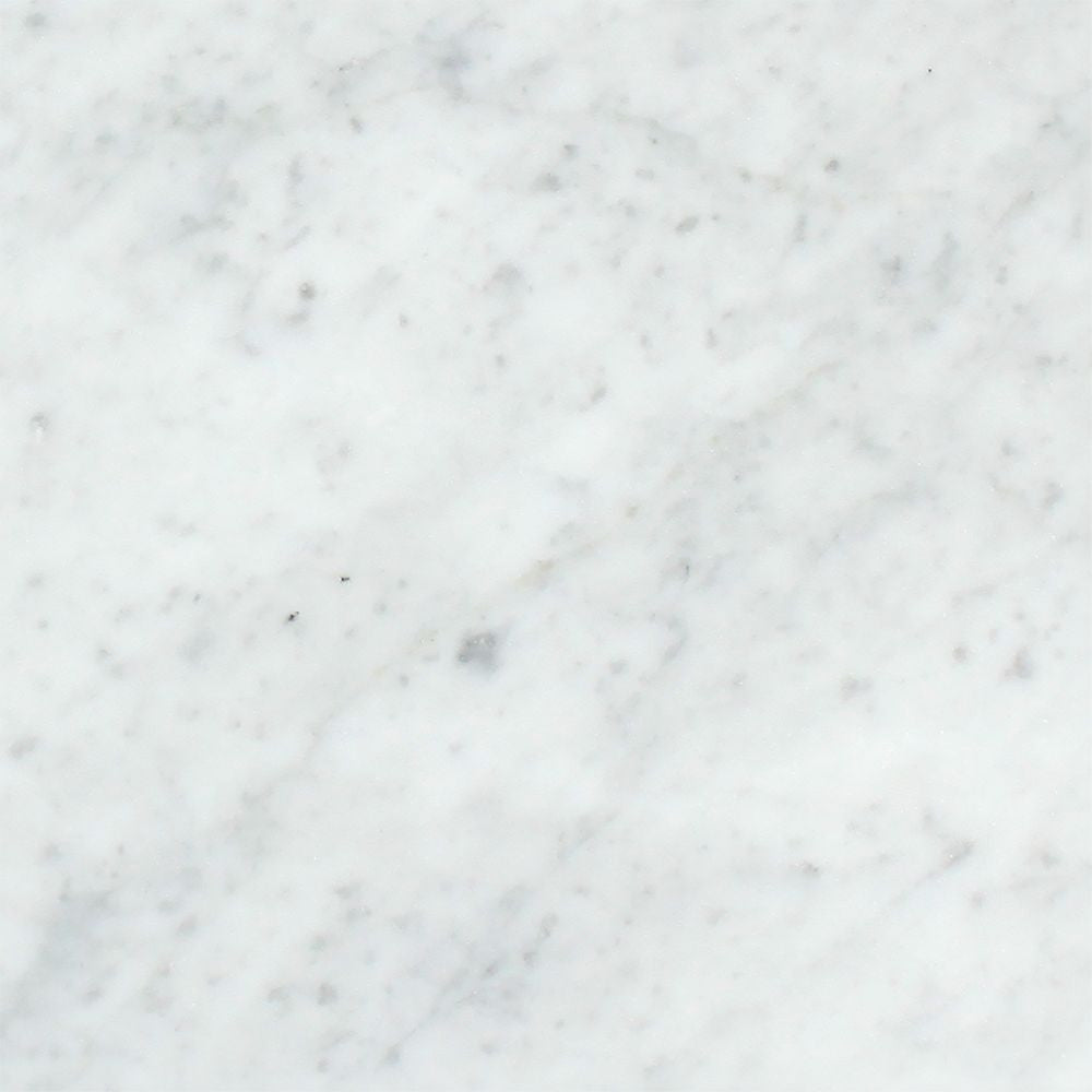 12 x 12 Honed Bianco Carrara Marble Tile - Tilephile