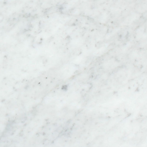 12 x 12 Honed Bianco Carrara Marble Tile