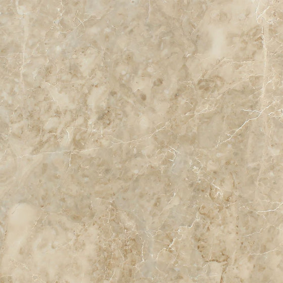 12 x 12 Polished Cappuccino Marble Tile - Tilephile