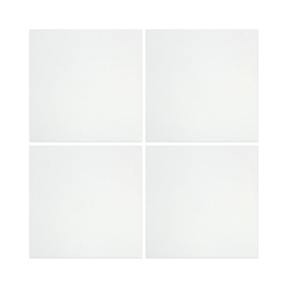 12 x 12 Polished Thassos White Marble Tile - Tilephile