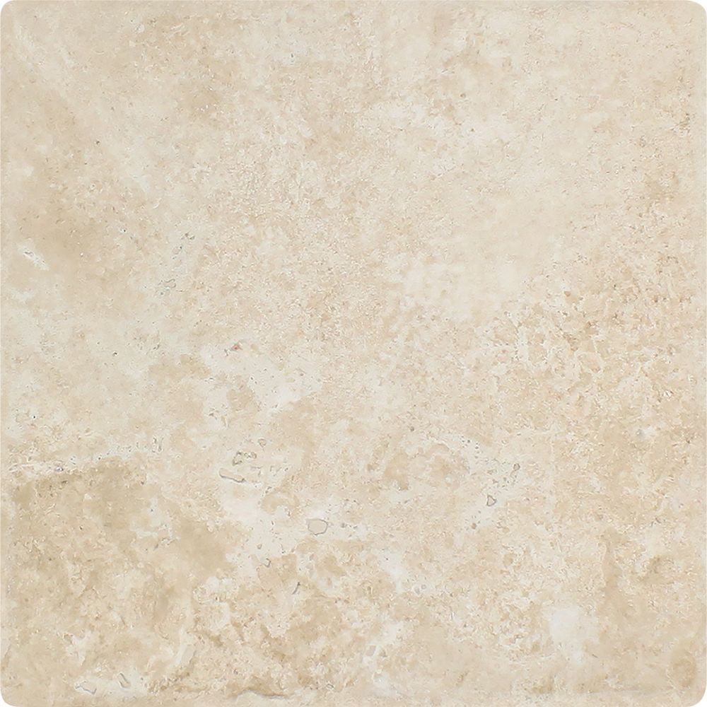 12 x 12 Tumbled Durango Travertine Tile - Standard - Tilephile