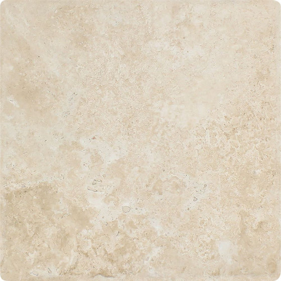 12 x 12 Tumbled Durango Travertine Tile - Standard