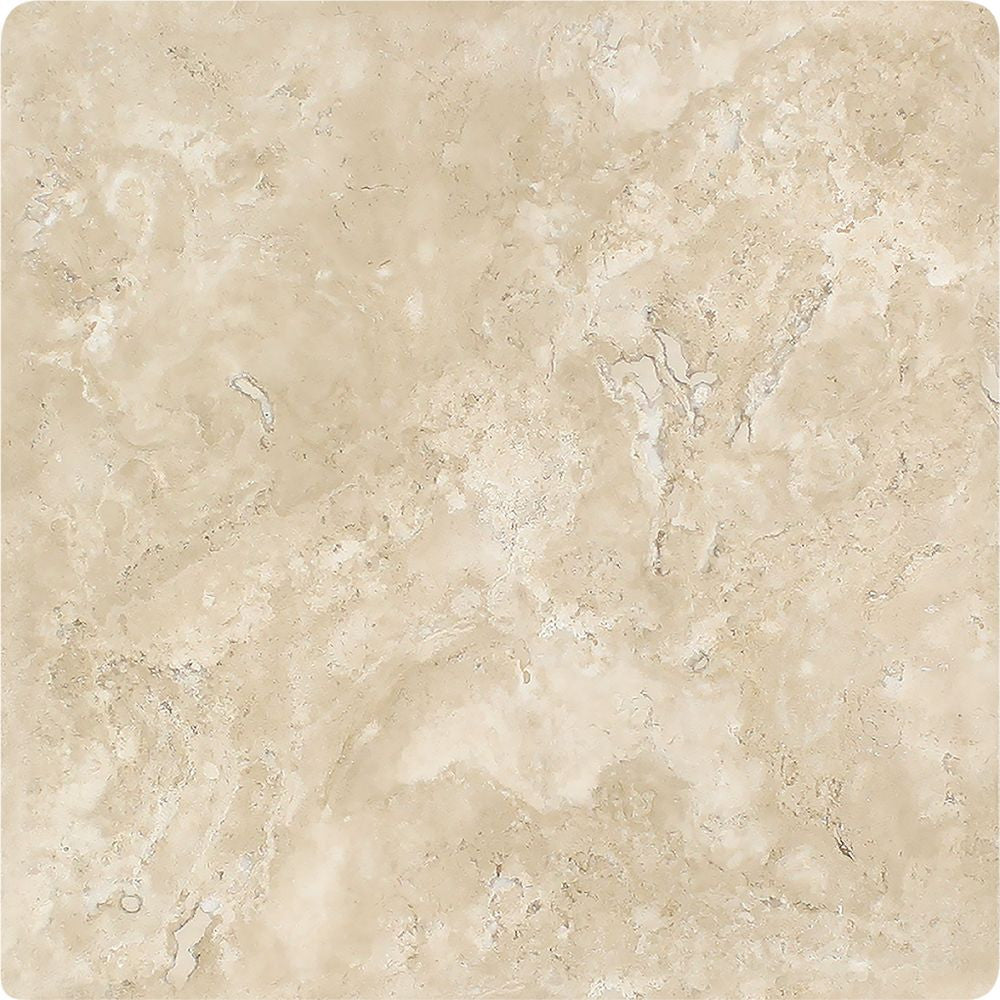 16 x 16 Tumbled Durango Travertine Tile Sample