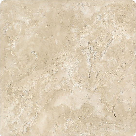 16 x 16 Tumbled Durango Travertine Tile - Tilephile