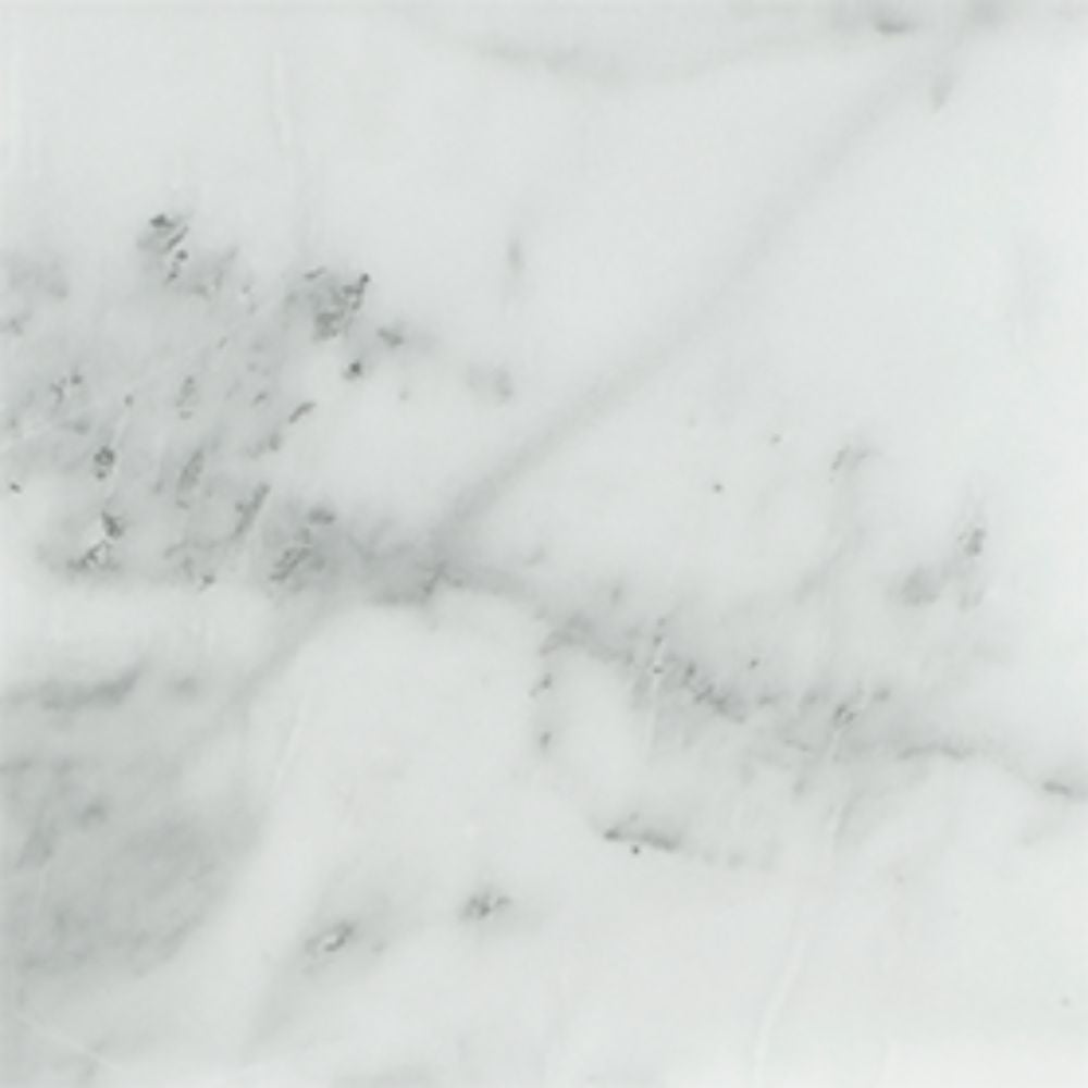 18 x 18 Honed Bianco Mare Marble Tile Sample