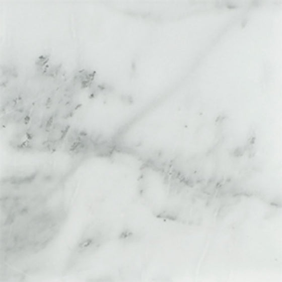 18 x 18 Honed Bianco Mare Marble Tile - Tilephile