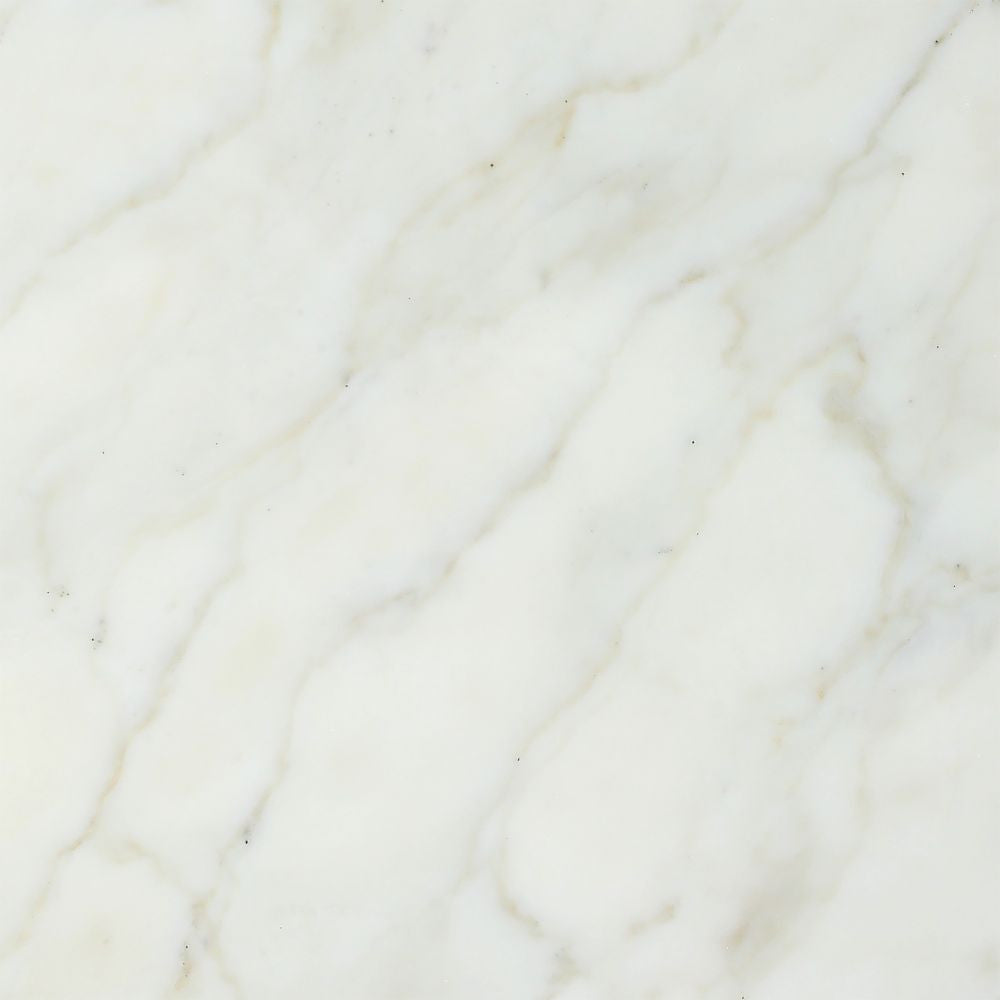 18 x 18 Honed Calacatta Gold Marble Tile Sample - Tilephile