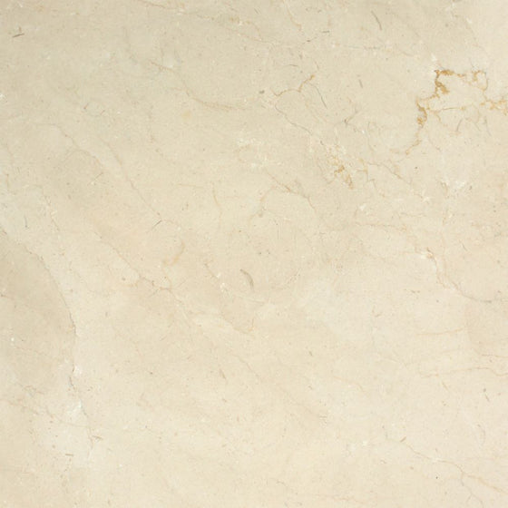 18 x 18 Honed Crema Marfil Marble Tile - Premium - Tilephile