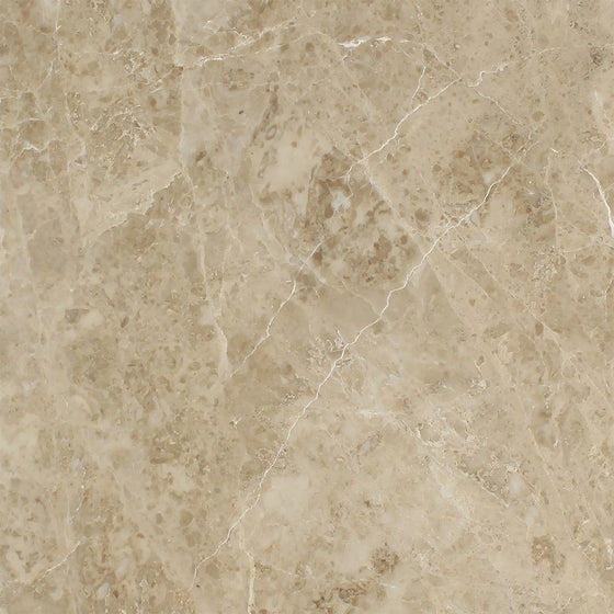 18 x 18 Polished Cappuccino Marble Tile - Tilephile