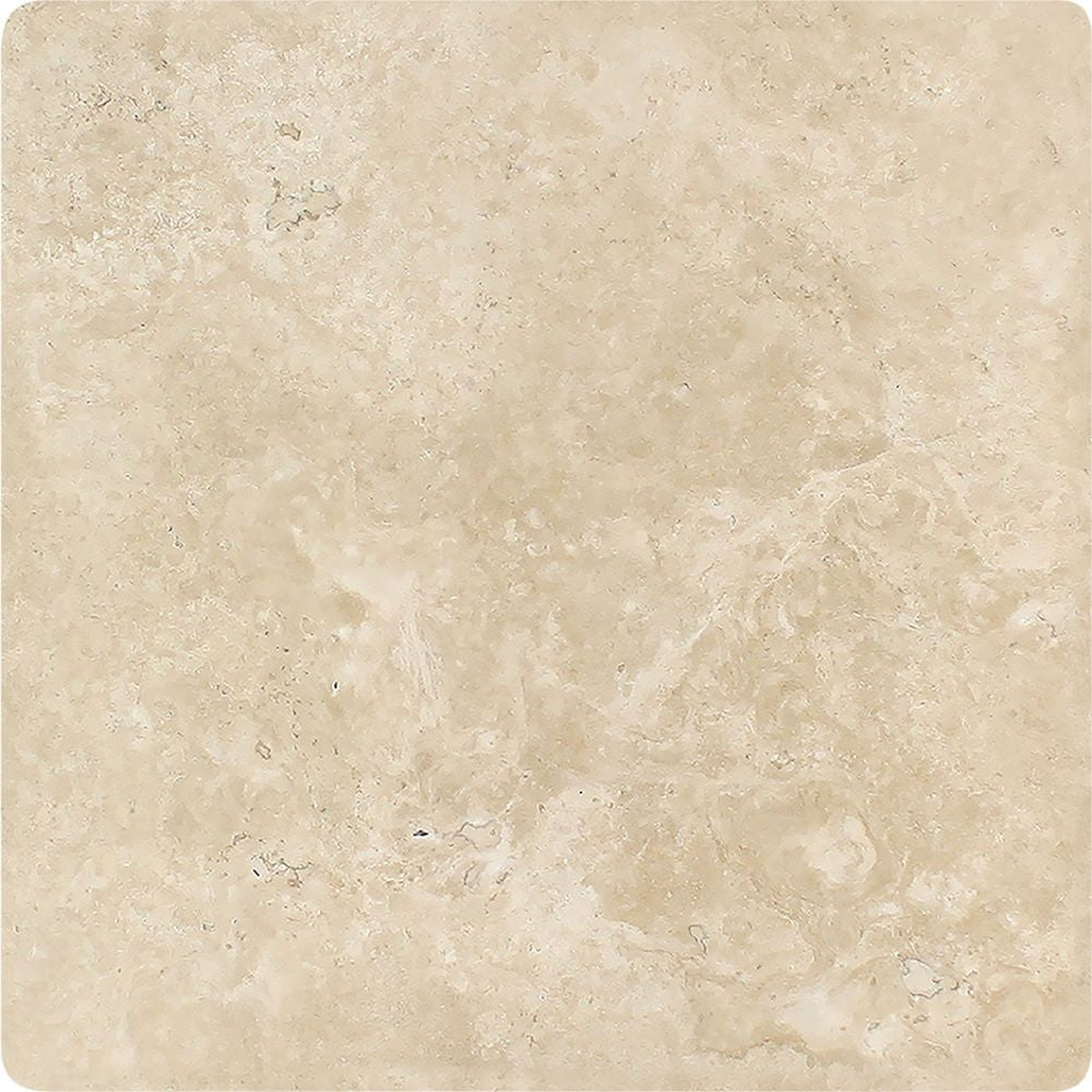 18 x 18 Tumbled Durango Travertine Tile Sample