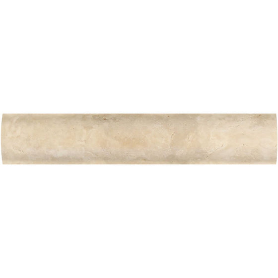 1 x 6 Honed Durango Travertine Quarter Round Trim - Tilephile