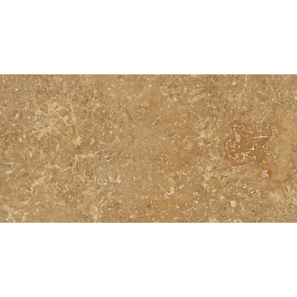 3 x 6 Honed Noce Travertine Tile - Tilephile