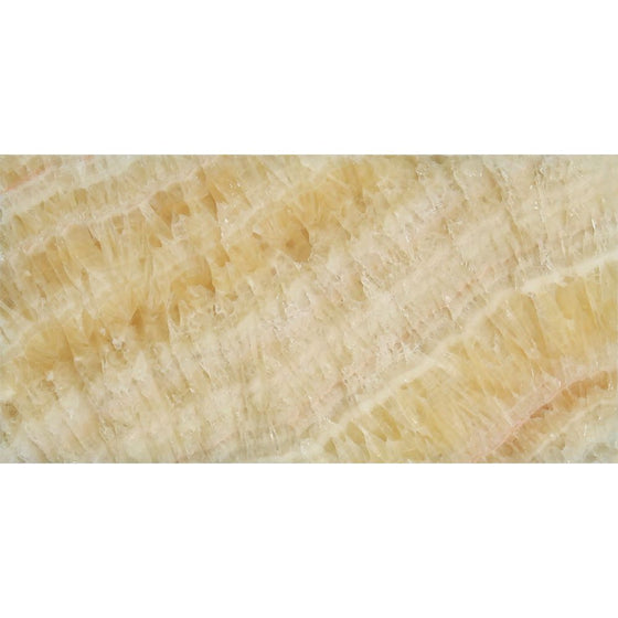3 x 6 Polished Honey Onyx Tile