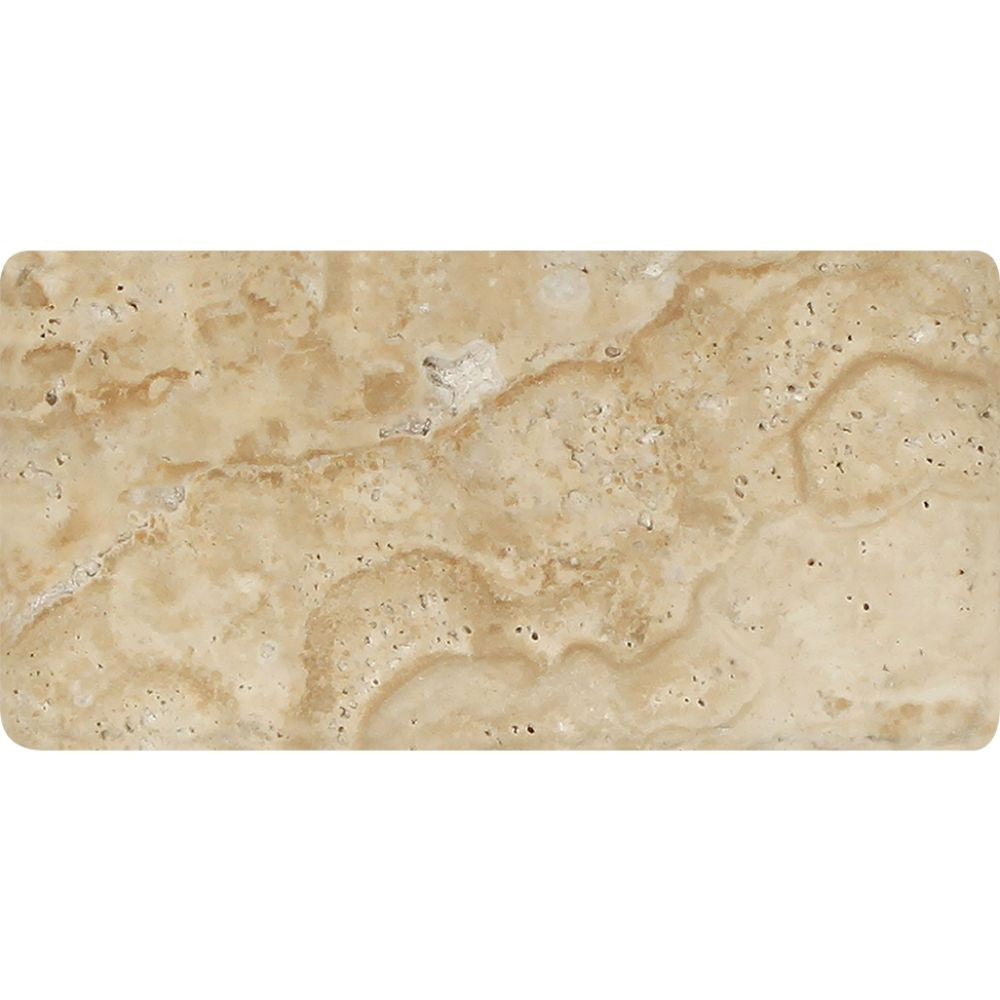 3 x 6 Tumbled Philadelphia Travertine Tile - Tilephile