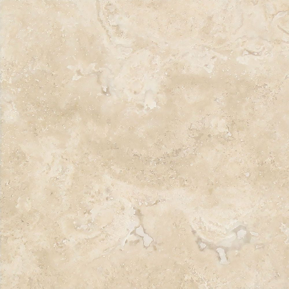 4 x 4 Honed Durango Travertine Tile Sample