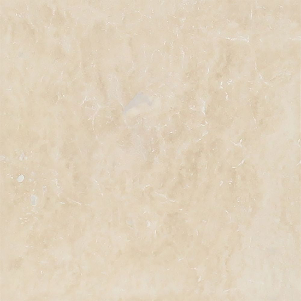 4 x 4 Honed Ivory Travertine Tile - Tilephile