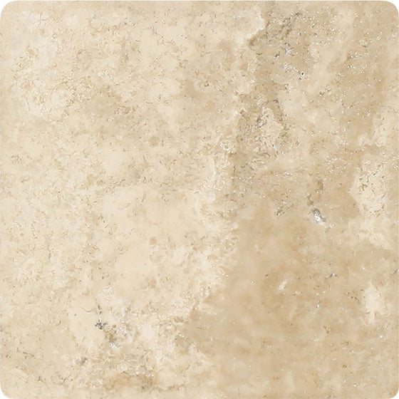 4 x 4 Tumbled Durango Travertine Tile - Tilephile