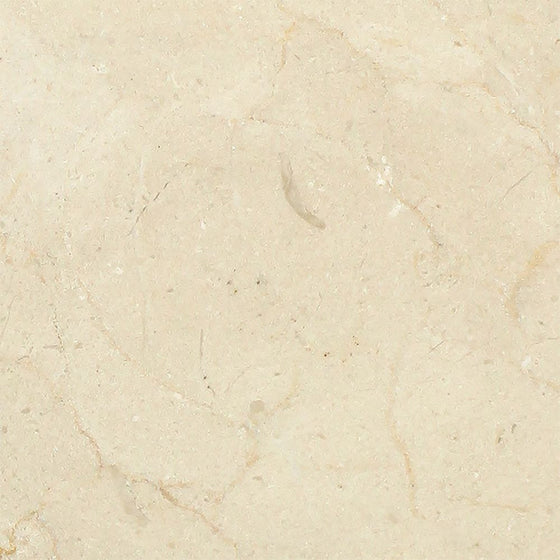 6 x 6 Polished Crema Marfil Marble Tile