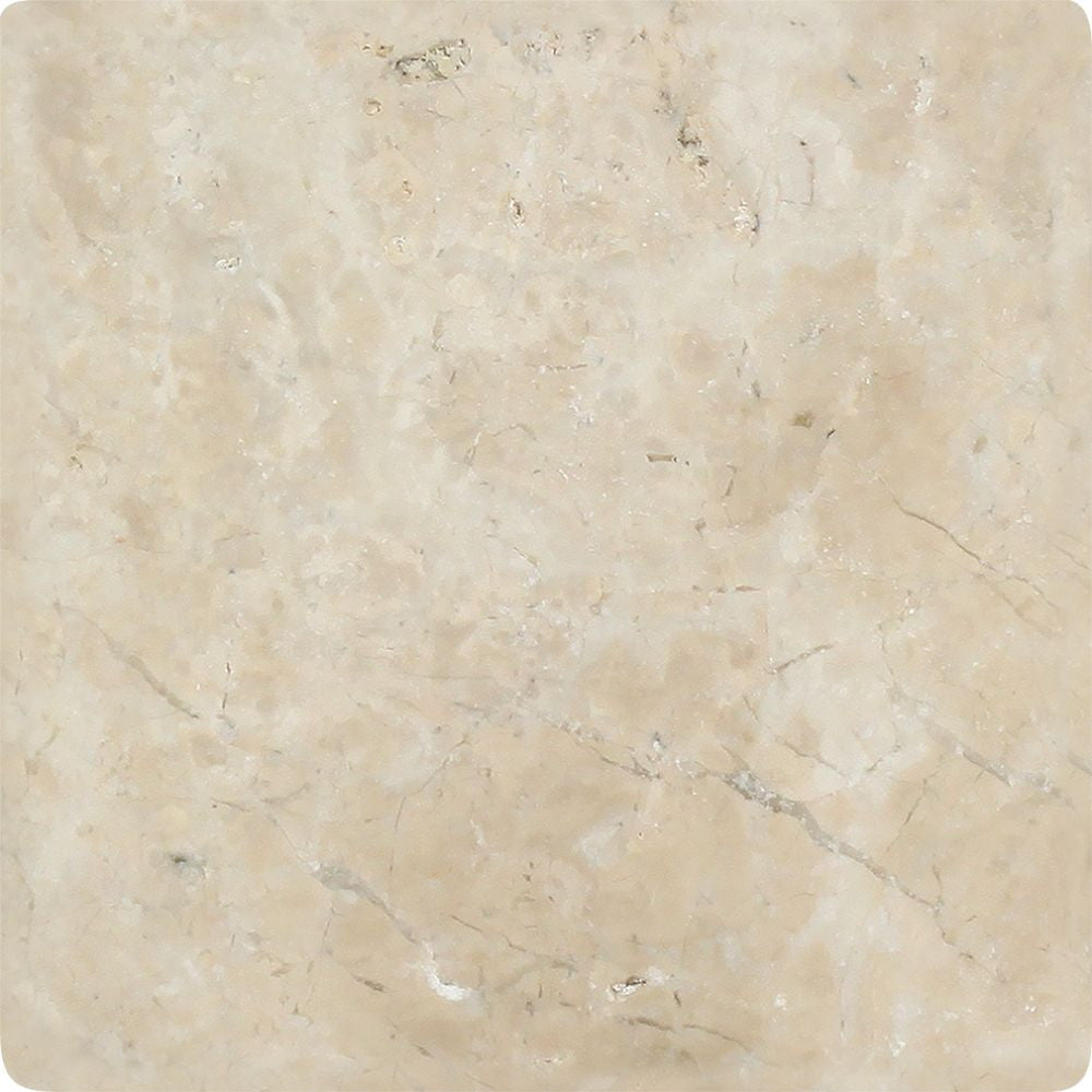 6 x 6 Tumbled Cappuccino Marble Tile Sample