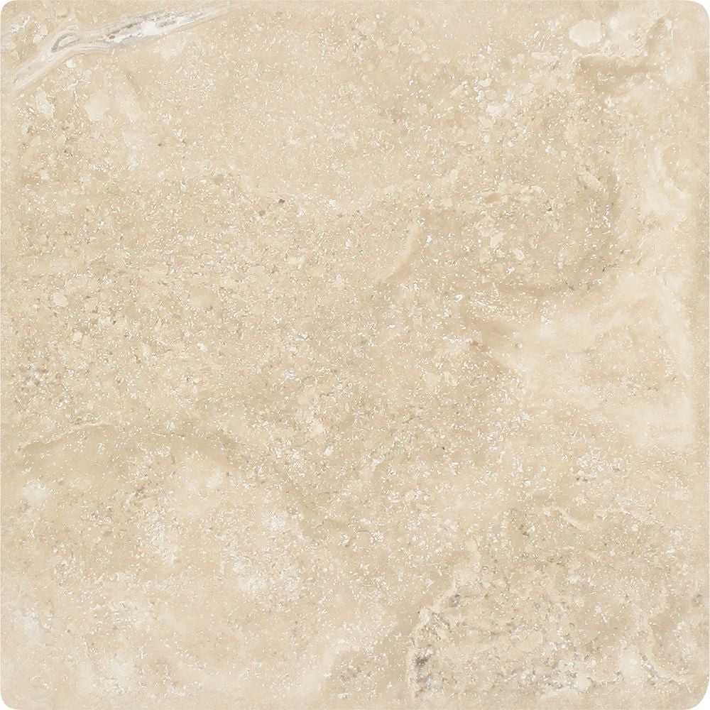 6 x 6 Tumbled Durango Travertine Tile - Tilephile