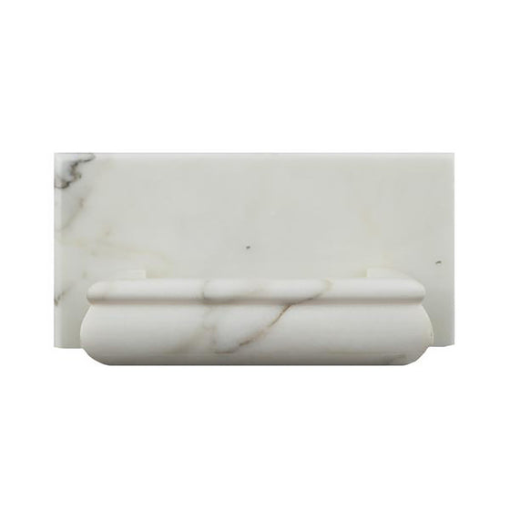 Calacatta Gold Marble Polished Hand-Made Custom Soap Holder