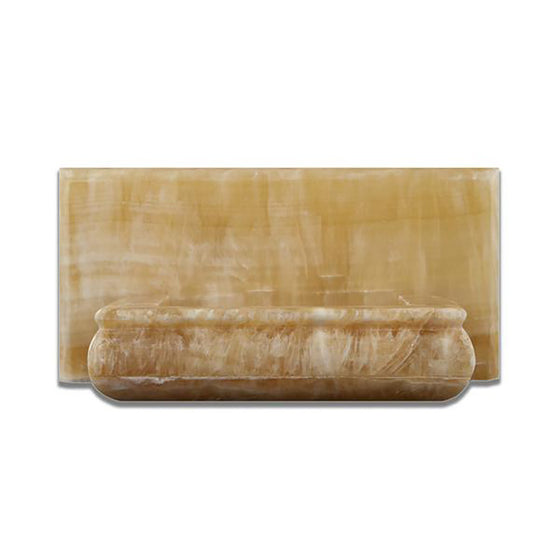 Honey Onyx Polished Hand-Made Custom Soap Holder - Tilephile