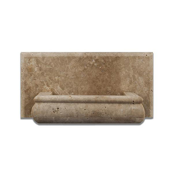 Durango Travertine Honed Hand-Made Custom Soap Holder - Tilephile