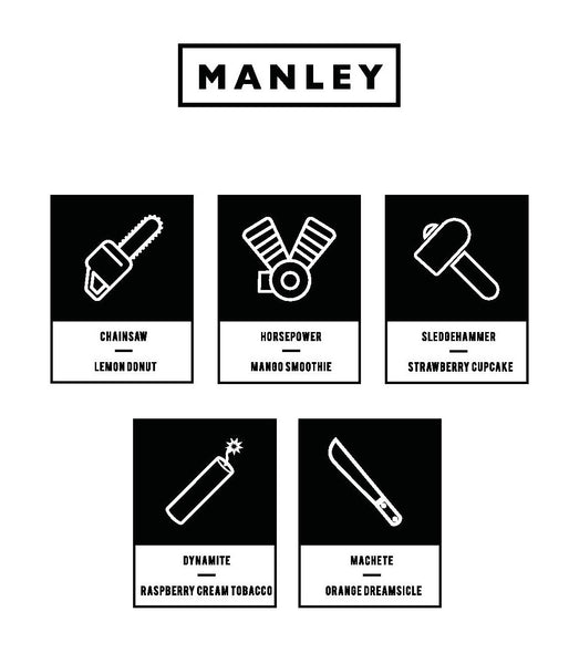Manley - 60ml bottles