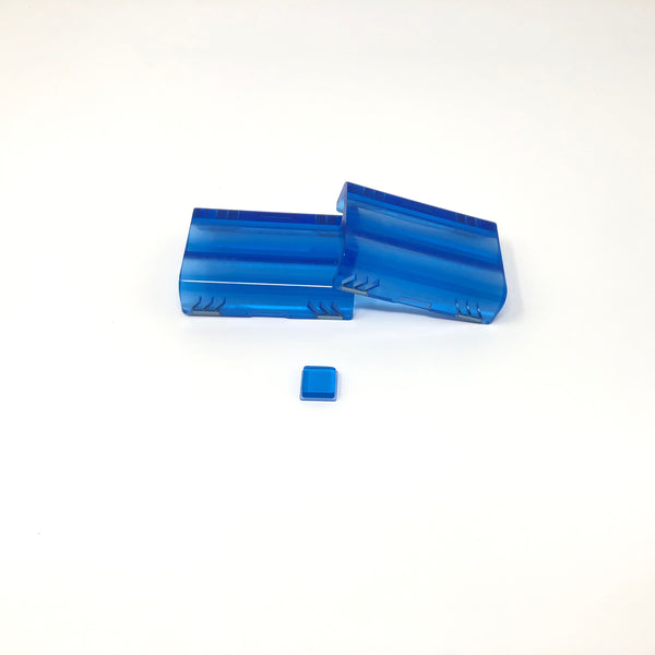 Blue Acrylic Hogv4 Doors with Button