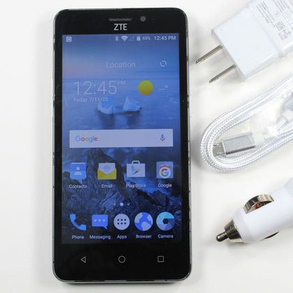 ZTE Maven 2 (MetroPCS) Smartphone 4G LTE GSM - Android OS 5-inch | Fast Shipping
