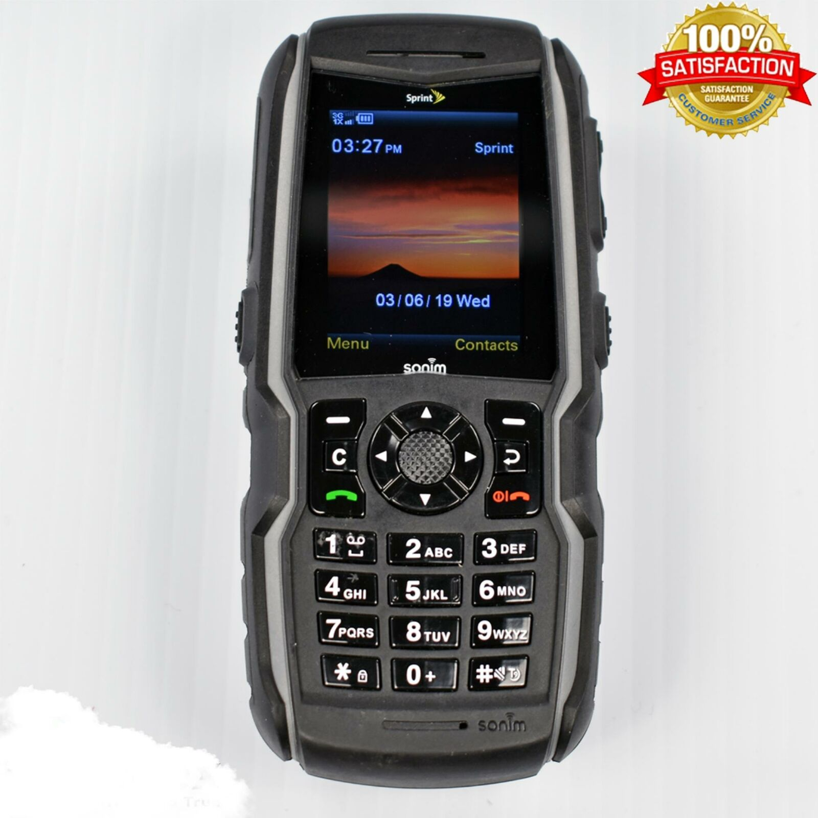 Sonim XP3410IS XP STRIKE (Sprint) Rugged Military Cell Phone Intrinsically Safe