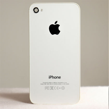 Original Apple iPhone 4S Back Cover Part White Model A1387 - Replacement Repair
