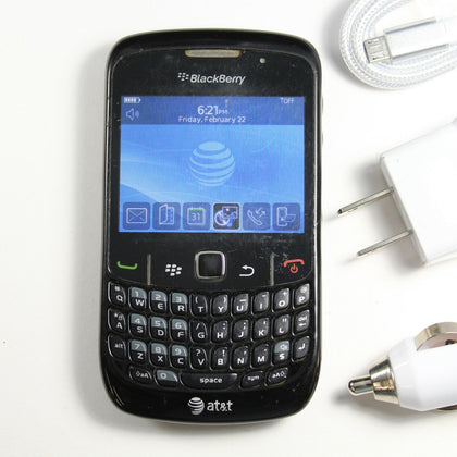 Blackberry Curve 8520 (AT&T) QWERTY Phone - GPS, WIFI DATA, 2MP Camera