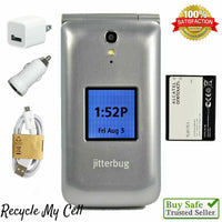 Jitterbug Flip 4G LTE (Great Call) 4043SJ ~ Easy-to-Use Cell Phone for Seniors