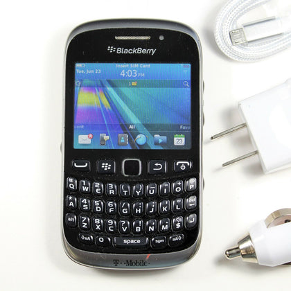 Blackberry Curve 9315 (T-Mobile) QWERTY Phone - GPS, WIFI DATA, 2MP Camera,