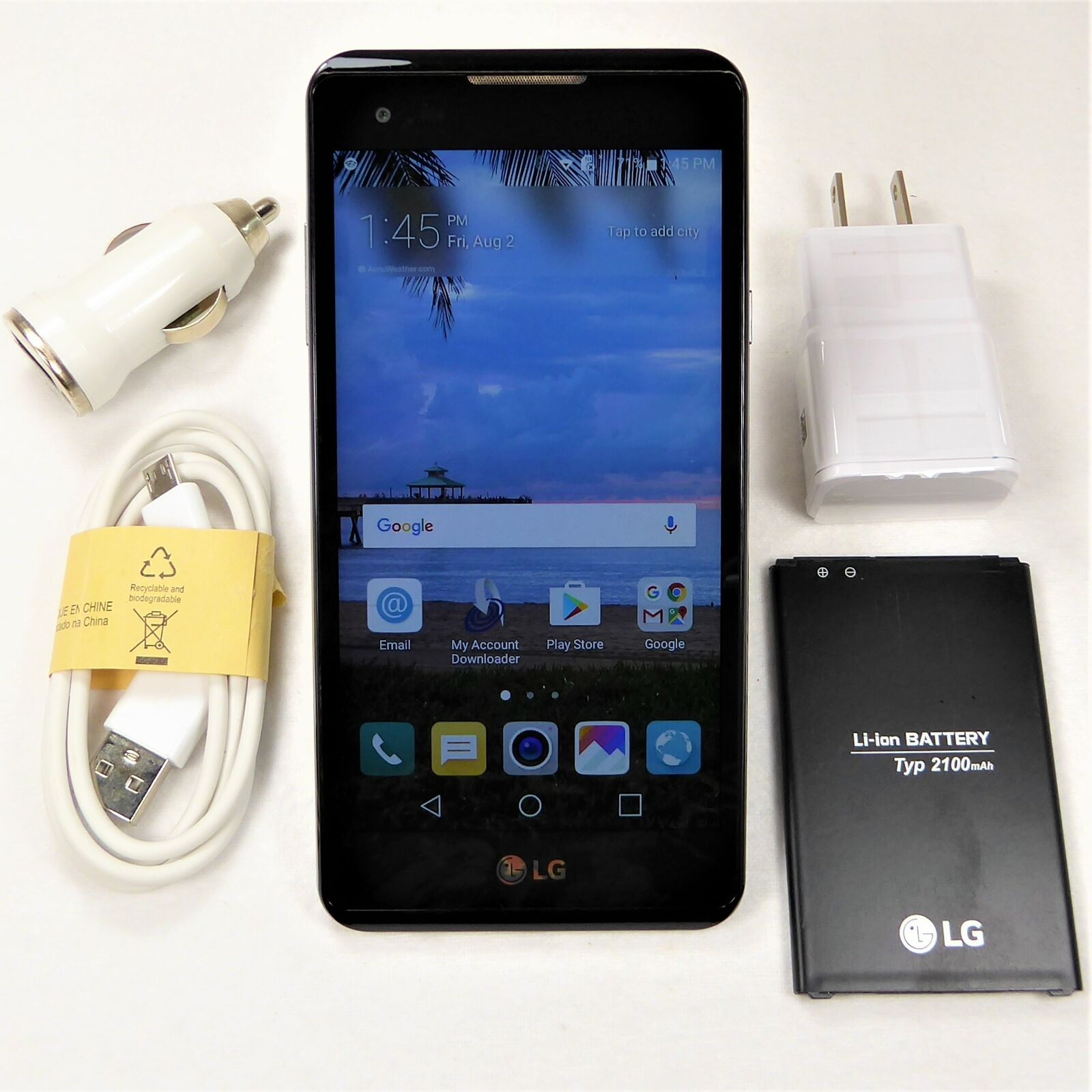 LG X Style (TracFone) Smartphone CDMA L56VL - 4G LTE High Speeds - Fast Ship