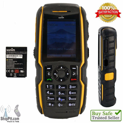 Sonim XP5560 Bolt (AT&T) Ultra Rugged Certified Military Phone GSM