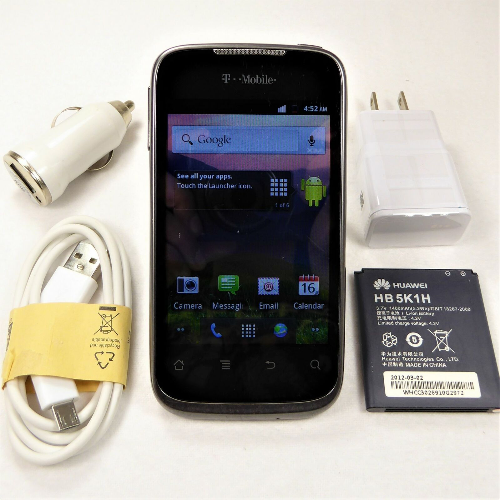 Wholesale Huawei Prism (T-Mobile) Smartphone GSM 3G U8651T  🌟 Fast Shipping 🌟