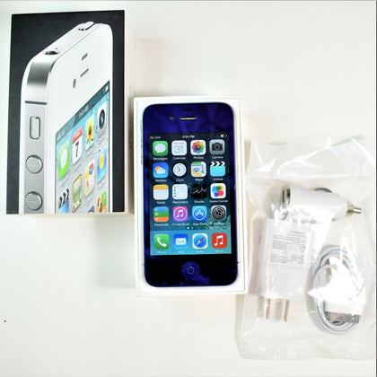 Rare Apple iPhone 4 (AT&T) 16GB - Custom Blue A1332 - Pre-Owned