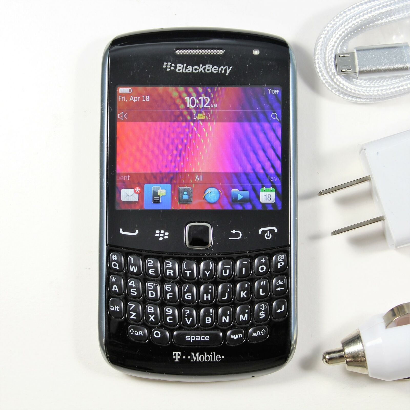 BlackBerry Curve 9360 (T-Mobile) 3G QWERTY Phone - Fast Ship